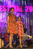 Batik fashion Stock Image