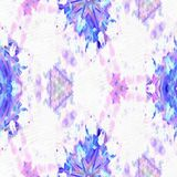 Batik Fractal die Blüte vektor abbildung