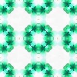 Batik Fractal Green Place stock illustration
