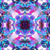 Batik Fractal In Repeating vector illustration