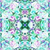 Batik Fractal Swirl Not vector illustration