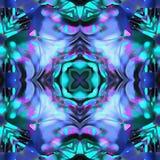 Batik Fractal Vase Pink royalty free illustration