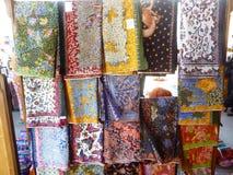 Batik hand stamp print in Lasem Stock Photography