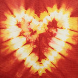 Batik heart Stock Photo