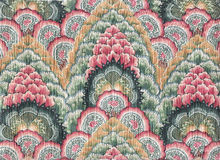 Batik indien de coton photos libres de droits
