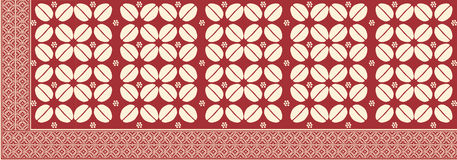 Batik from Indonesia Stock Photography