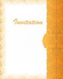 Batik Indonesien för inbjudanräkningsabstrakt begrepp Royaltyfria Foton