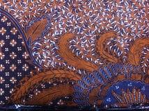 Batik, Indonezja Tradycyjna tkanina Zdjęcia Royalty Free