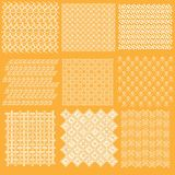 Batik Javanese traditional pattern Collection 1 Stock Photo