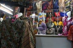 Batik market Stock Image