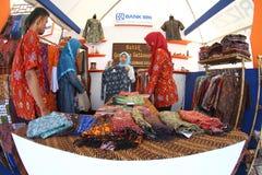Batik market Royalty Free Stock Photography