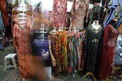 Batik market Royalty Free Stock Photography