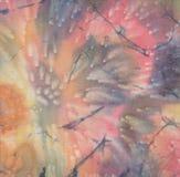 Batik med det varma vaxet Fotografering för Bildbyråer