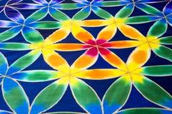 Batik-Muster Stockfotografie