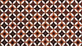 Batik olive orange stock photography