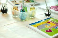 Batik painting Royalty Free Stock Images