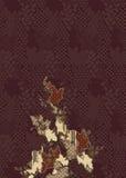 Batik patern. Pattern batik brown java style Royalty Free Stock Photos