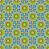 Batik pattern and computer processing Royalty Free Stock Photo