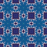 Batik pattern and computer processing Royalty Free Stock Images