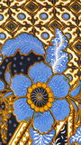 Batik pattern, Indonesia Royalty Free Stock Photos