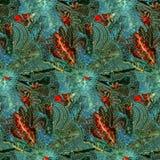 Batik pattern Stock Image