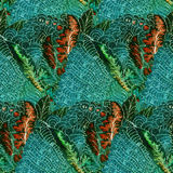 Batik pattern Royalty Free Stock Images