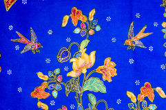 Batik Pattern Royalty Free Stock Photo