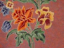 Batik pattern, Solo, Indonesia royalty free stock photos