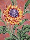 Batik pattern, Solo, Indonesia stock image