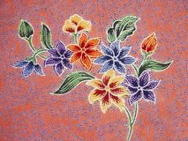 Batik pattern, Solo, Indonesia royalty free stock images