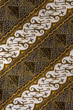 Batik patterns and texture Royalty Free Stock Photos