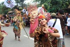 Batik rouge Photo libre de droits