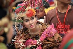 Batik rouge photographie stock libre de droits