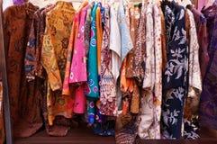 Batik-Sammlungen stockfoto