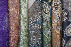 Batik sarongs Stock Photos