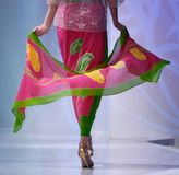 Batik-Schaukasten Stockfotos
