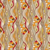 Batik Seamless Pattern Royalty Free Stock Photos