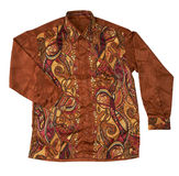 Batik shirt Stock Photo