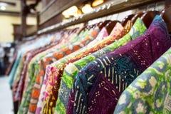 Batik shirt Stock Image