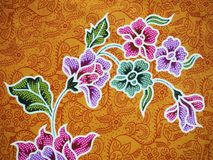 Batik. From Solo, Java, Indonesia stock images