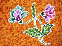 Batik. From Solo, Java, Indonesia Stock Image