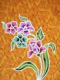 Batik Stock Photo