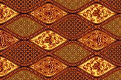 Batik solo patroon royalty-vrije stock afbeelding