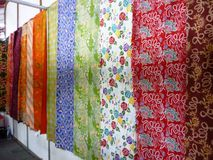 Batik store Royalty Free Stock Photo