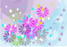 Batik style Royalty Free Stock Image