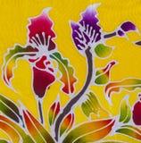 Batik style fabric Royalty Free Stock Photos