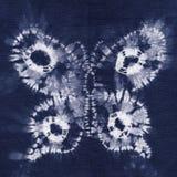 Batik teint par matériel Photo libre de droits