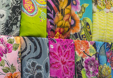 Batik textile Stock Photos