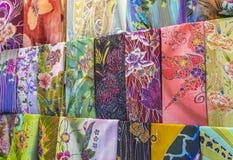 Batik textile Stock Photos