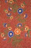 Batik texture made in Malaysia. Colorful batik texture made in Malaysia Royalty Free Stock Photo